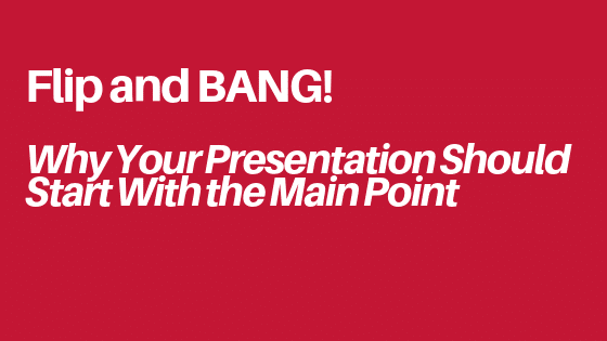 presentation main point