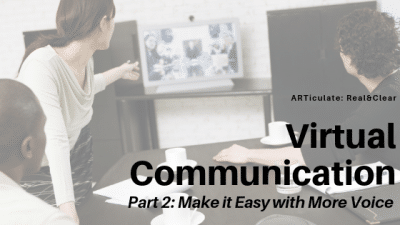virtual communication use your voice